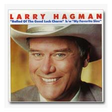 Larry Hagman Ballad of the Good Luck Charm 45 Record