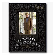 Larry Hagman Julien's Auction Catalogue