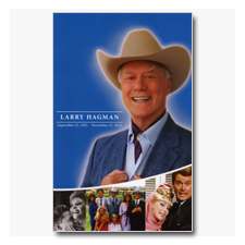 Larry Hagman Memorial Program