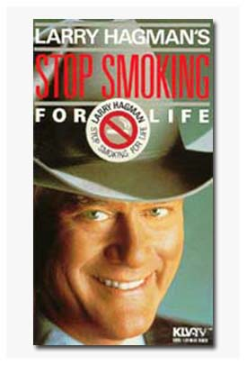 Larry Hagman Stop Smoking For Life VHS